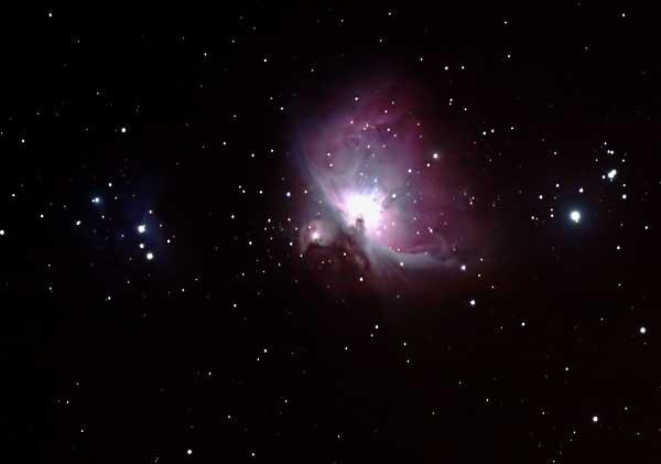 M42 avec Orion 80ED et 300D